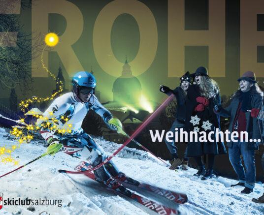 Der Skiclub wünscht FROHE WEIHNACHTEN!